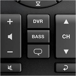 Bass Control on Remote